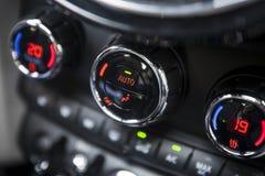 Condizionamento d'aria dell'automobile Fotografia Stock