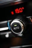 Condizionamento d'aria dell'automobile Immagine Stock