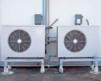Condizionamento d'aria due Fotografia Stock