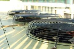 Condizionamento d'aria e ventilatore Fotografia Stock
