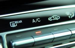Condizionatore d'aria automatico dell'automobile Immagini Stock