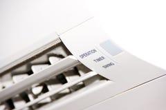 Condizionatore d'aria bianco Fotografia Stock Libera da Diritti