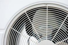Condizionatore d'aria del fan della bobina dell'unità del condensatore fotografia stock