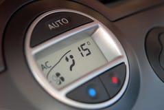 Condizionatore d'aria dell'automobile Fotografia Stock