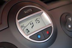 Condizionatore d'aria dell'automobile Fotografie Stock Libere da Diritti