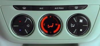 Condizionatore d'aria dell'automobile Fotografie Stock