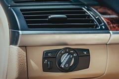Condizionatore d'aria dell'automobile Immagine Stock Libera da Diritti