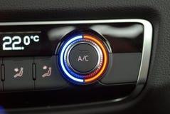 Condizionatore d'aria dell'automobile di Autmatic Immagini Stock