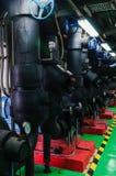 Condizionatore d'aria dell'isolamento del tubo Immagini Stock