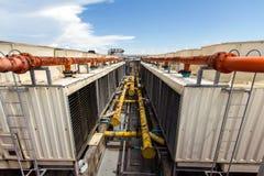 Condizionatore d'aria industriale Fotografia Stock Libera da Diritti