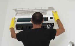 Condizionatore d'aria matrice di servizio Immagini Stock Libere da Diritti