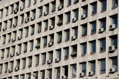 Condizionatori d'aria di Windows Fotografia Stock Libera da Diritti