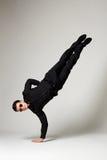 Condizione alla moda dell'uomo da una parte Fotografie Stock Libere da Diritti