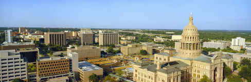 Condizione Campidoglio a Austin immagini stock libere da diritti