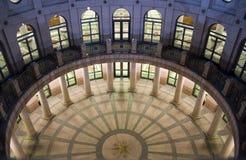 Condizione Campidoglio che costruisce alla notte a Austin del centro, il Texas Immagine Stock