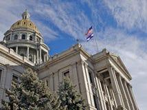 Condizione Campidoglio del Colorado   fotografia stock libera da diritti