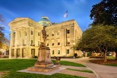 Condizione Campidoglio del North Carolina immagine stock libera da diritti