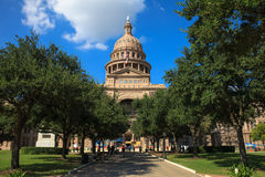 Condizione Campidoglio del Texas che costruisce a Austin fotografia stock libera da diritti