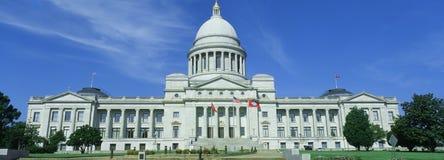 Condizione Campidoglio dell'Arkansas Fotografia Stock Libera da Diritti