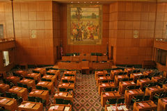 Condizione Campidoglio dell'Oregon immagine stock libera da diritti