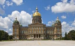 Condizione Campidoglio dello Iowa Fotografia Stock Libera da Diritti