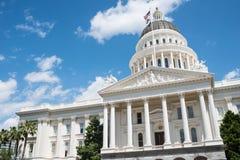 Condizione Campidoglio di Sacramento dell'edificio della California Immagini Stock Libere da Diritti