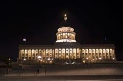 Condizione Campidoglio di Salt Lake City, Utah fotografie stock libere da diritti