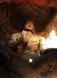 Condizione in caverne di YunGang Immagine Stock Libera da Diritti