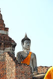 Condizione del Buddha ed il pagoda Immagini Stock