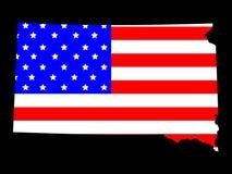 Condizione del Dakota del Sud Fotografia Stock Libera da Diritti