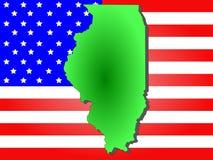 Condizione dell'Illinois Fotografia Stock