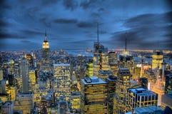 Condizione dell'impero e di Manhattan Fotografie Stock Libere da Diritti