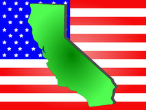 Condizione della California illustrazione di stock