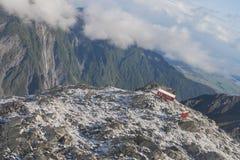 Condizione della Camera inclinata su un'alta montagna Immagine Stock Libera da Diritti
