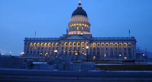 Condizione della costruzione del capitol di Utah Fotografia Stock