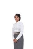 Condizione della donna di affari Fotografia Stock