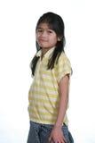 Condizione della ragazza di sette anni Immagine Stock