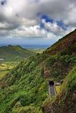 condizione della sosta di pali di nuuanu o dell'Hawai di ahu Fotografia Stock Libera da Diritti