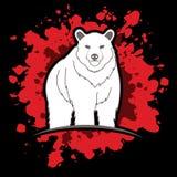 Condizione di Big Bear Immagine Stock
