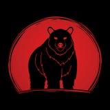 Condizione di Big Bear Fotografie Stock Libere da Diritti