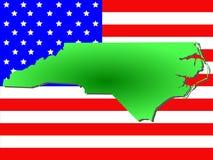 Condizione di North Carolina royalty illustrazione gratis
