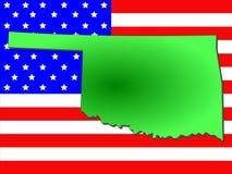 Condizione di Oklahoma illustrazione vettoriale