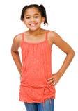 Condizione e sorridere del bambino Fotografia Stock