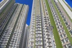 Condizioni di vita ad alta densità alla HK Fotografia Stock