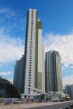Condizioni di vita ad alta densità alla HK Fotografie Stock