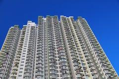 Condizioni di vita ad alta densità alla HK Immagine Stock