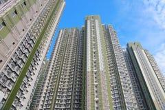 Condizioni di vita ad alta densità alla HK Immagine Stock Libera da Diritti