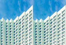 The condo Accommodation in the suburbs.  Royalty Free Stock Photos