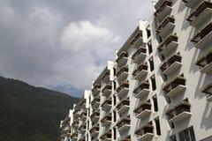 Condo. Beautiful condo in suburban ,south of China Royalty Free Stock Photography