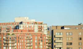 Condo building in Montreal Royalty Free Stock Images